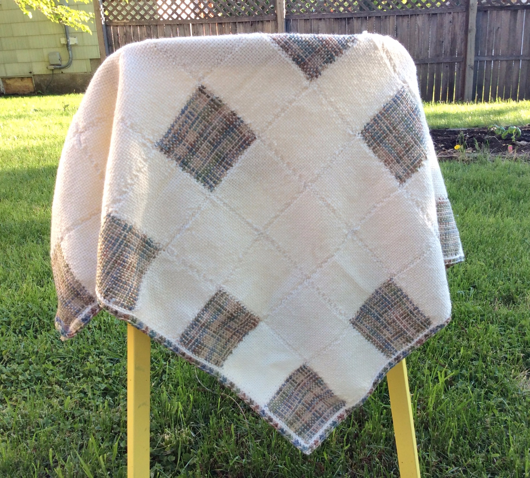 Two Pin Loom Baby Blanket Patterns
