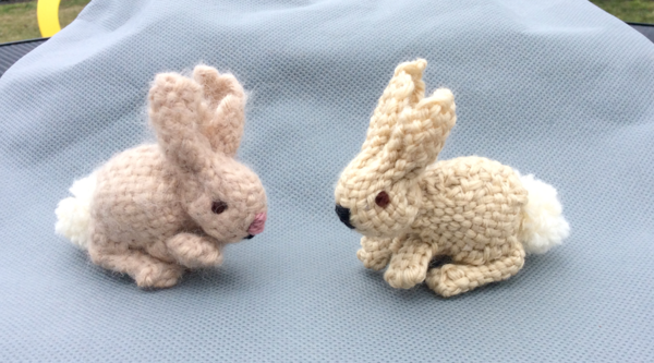 Pin Loom Rabbit Pattern