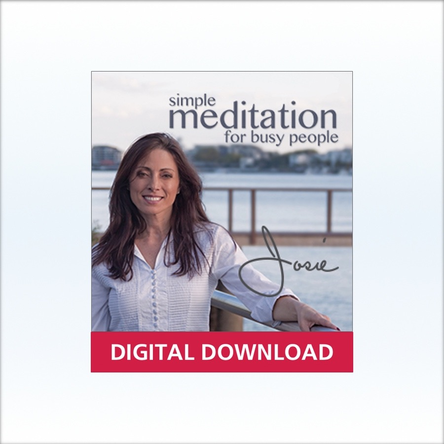 Simple Meditation for Busy People - Digital Download
