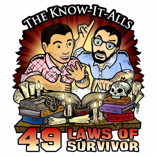 The 49 Laws of Survivor  - A Know-It-Alls Audiobook