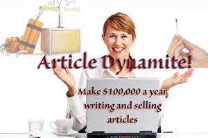 Article Dynamite: Write & Sell Web Articles