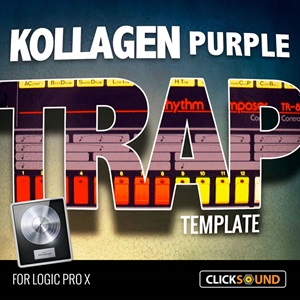 Kollagen 'Purple' Trap Template for Logic Pro