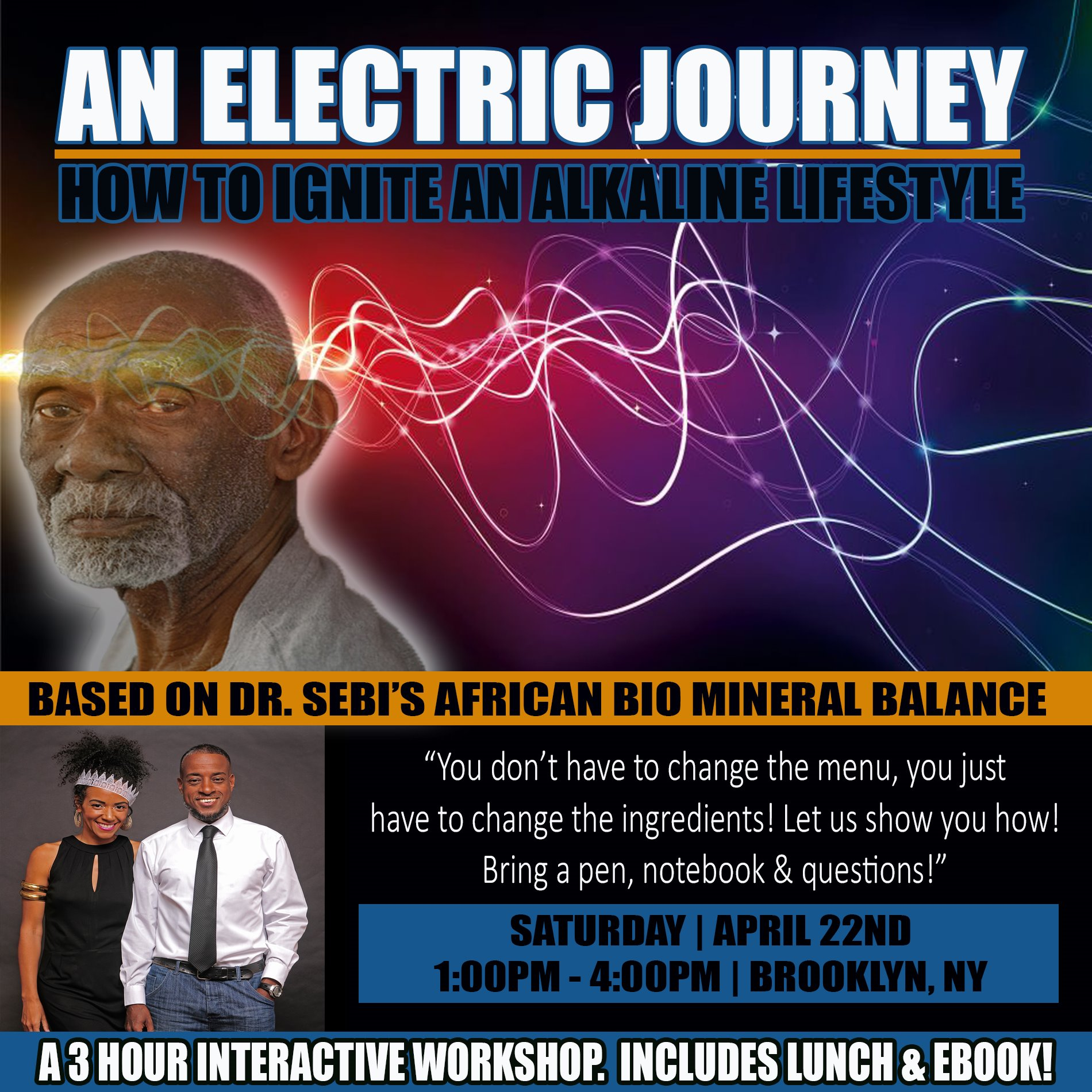 AN ELECTRIC JOURNEY WORKSHOP| APRIL 22ND