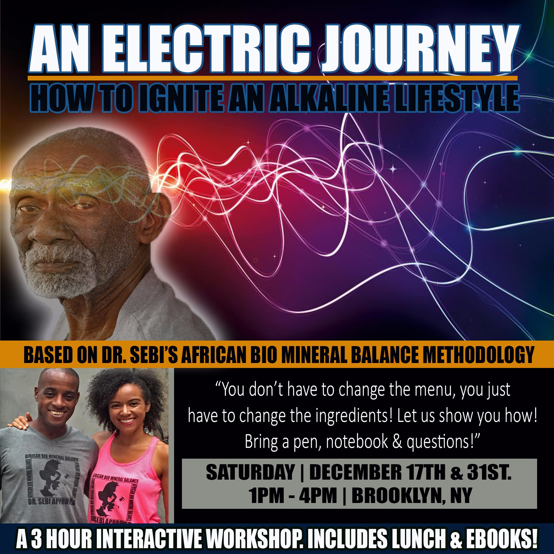 AN ELECTRIC JOURNEY WORKSHOP