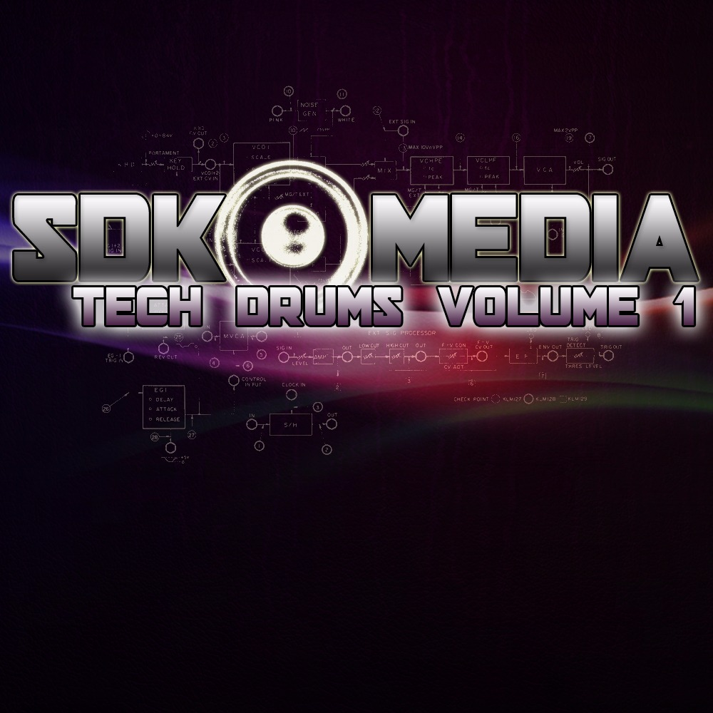 SDK Media – Tech Drums Volume 01